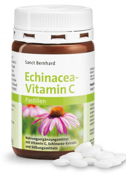 Sanct Bernhard Echinacea-Vitamin C- 200 Pastillen