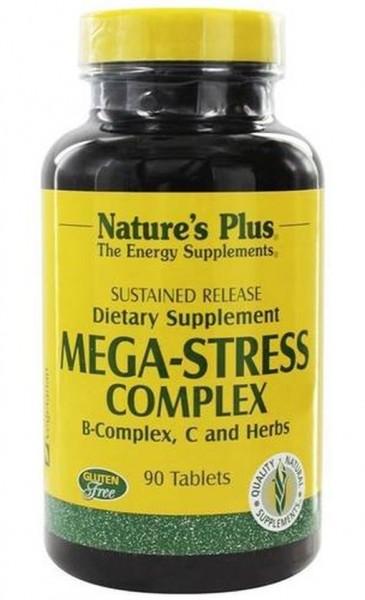 Natures Plus Mega-Stress Complex - 90 Tabletten