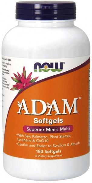 Now Foods ADAM Men's Multi - 180 Softgels