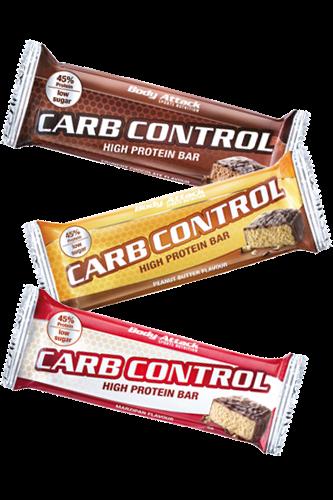 Body Attack Carb Control Proteinriegel - 1 Riegel