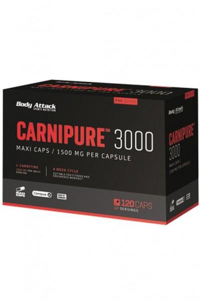 Body Attack Carnipure 3000 - 120 Caps