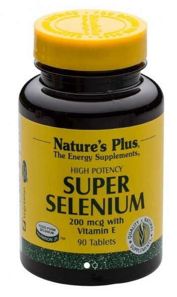 Natures Plus Super Selenium 90 Tabletten