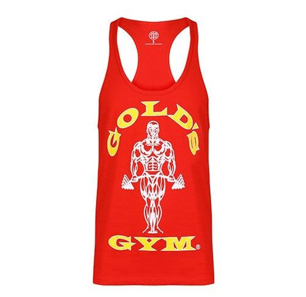 Golds Gym Tank Top Stringer Joe Premium rot