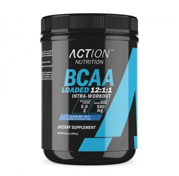 Action Nutrition BCAA Loaded - 249 g Dose