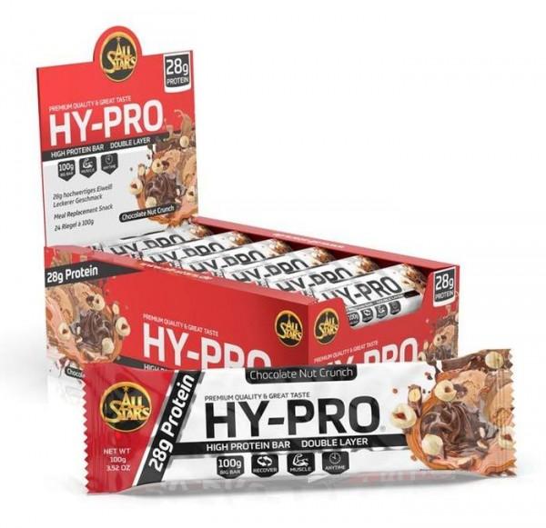 All Stars Hy-Pro Proteinriegel - 24 Riegel a 100 g