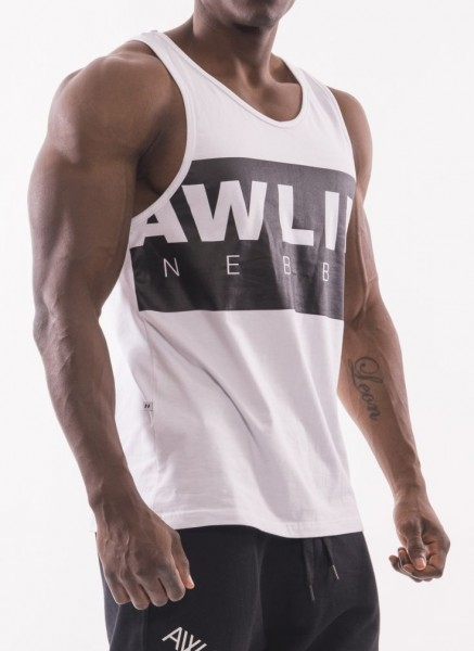 Nebbia AW 90's Muscle Tank Top - White