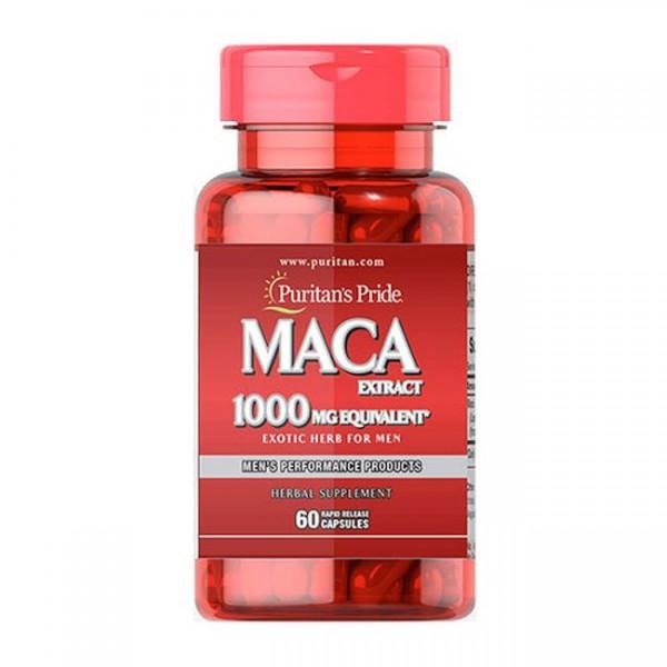 Puritans Pride MACA Extrakt 1000 mg equivalent 60 Kapseln
