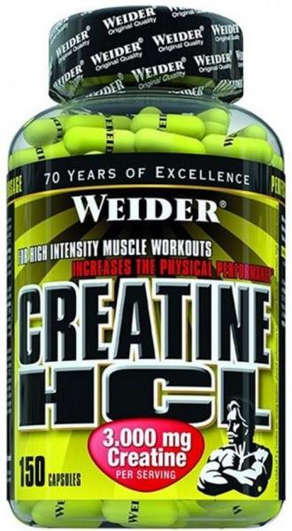 Weider Creatine HCL 3000mg 150 Kapseln