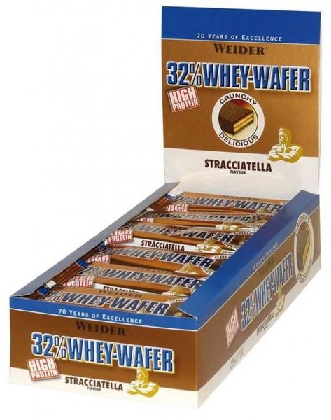 Weider 32% Whey-Wafer Bar - 24 x 35 g