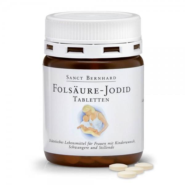 Sanct Bernhard Folsäuren-Jodid - 240 Tabletten