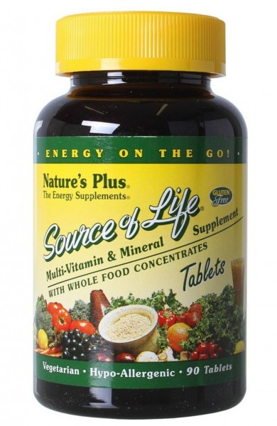 Natures Plus Source of Life - 90 Tabletten