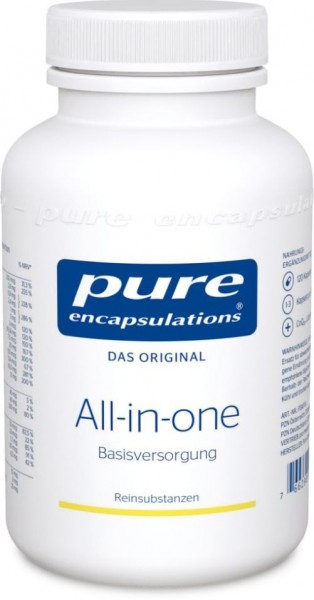Pure Encapsulations All-in-one - 120 Kapseln