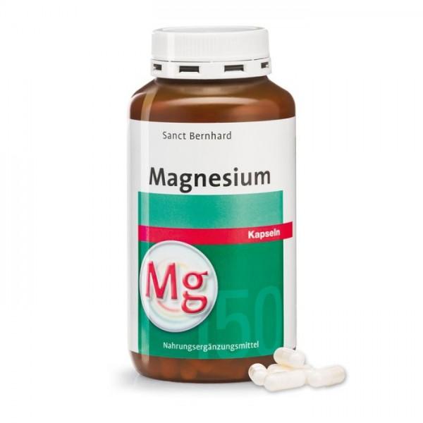 Sanct Bernhard Magnesium-Kapseln - 340 Kapseln