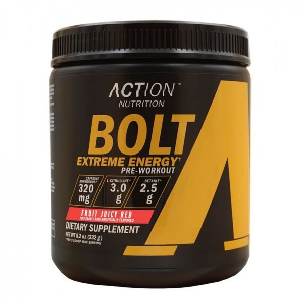 Action Nutrition Bolt Extreme Energy - 232 g - Dose