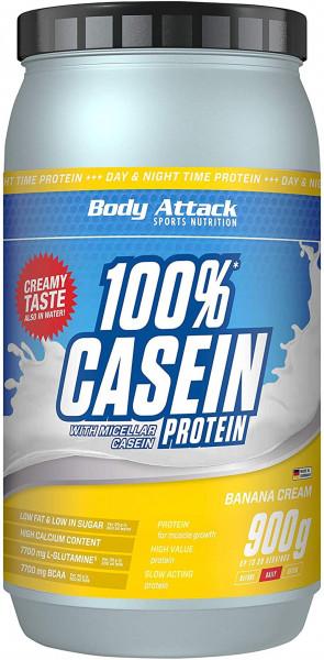 Body Attack 100% Casein Protein - 900 g Dose