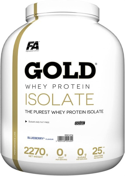 FA Nutrition Gold Whey Isolate - 2270g
