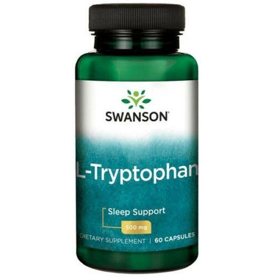 Swanson- L- Tryptophan 500 mg- 60 Kapseln