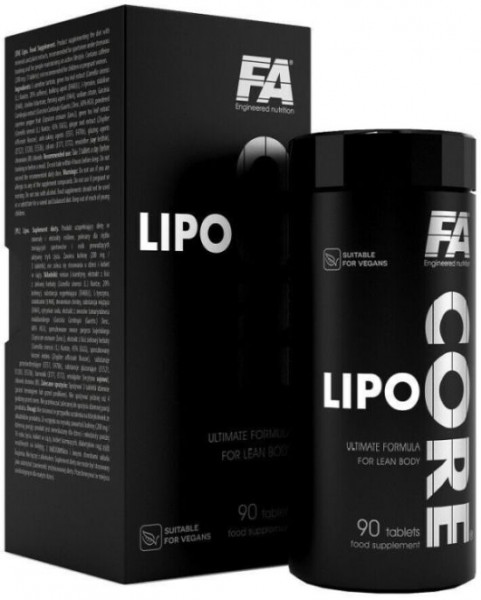 FA Nutrition Lipo Core - 90 Tabletten