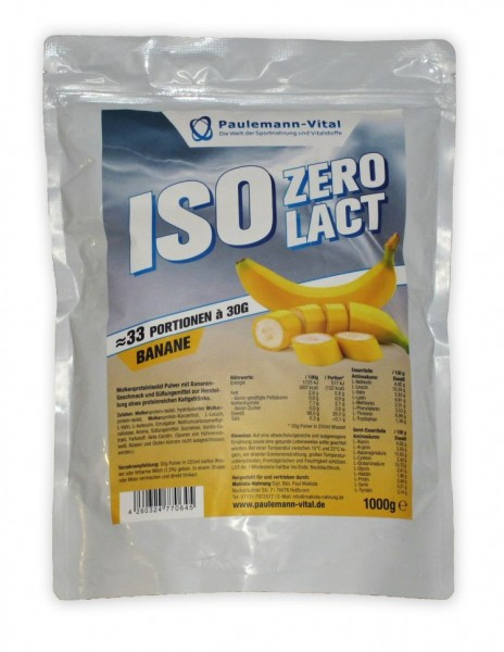 Paulemann-Vital ISO Zero Lact - 1000 g
