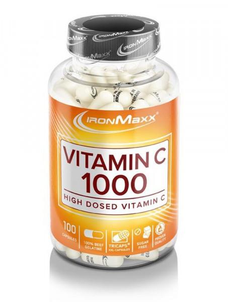 IronMaxx Vitamin C 1000 High Dosed - 100 Kapseln
