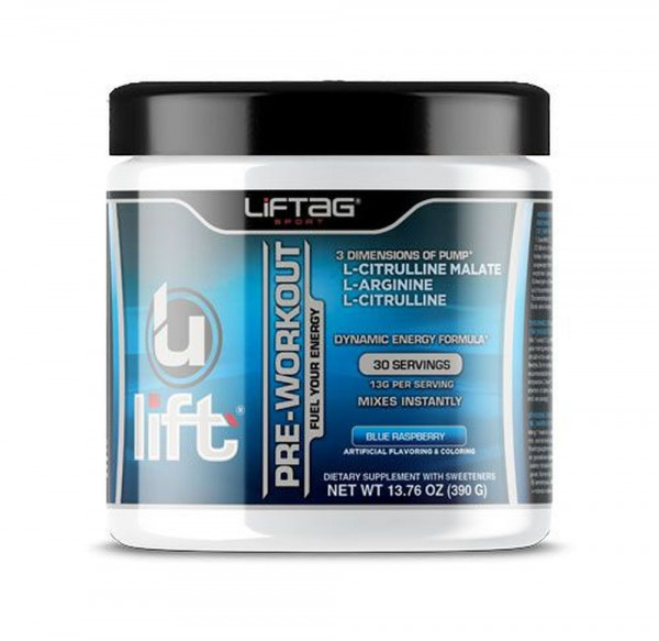Liftag Ulift Pre-Workout Booster - 390 g-Dose