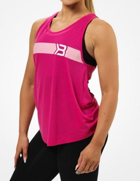 Better Bodies Chrystie Cut Tank, Hot Pink