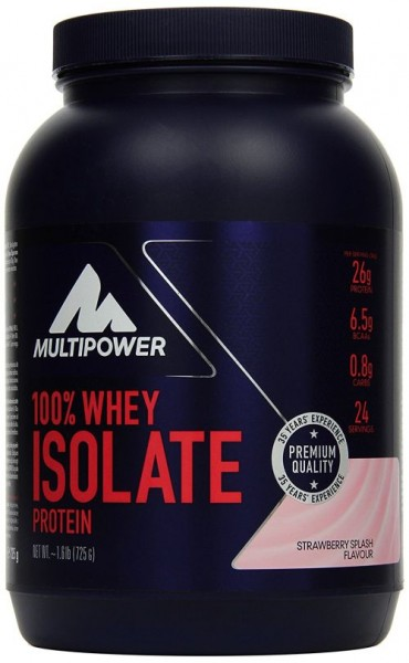 Multipower 100 % Whey Protein Isolat 725g