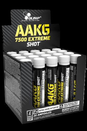 Olimp AAKG 7500 Extreme Shot 20 Ampullen à 25ml