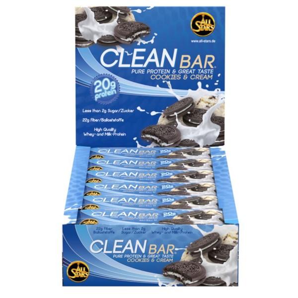 All Stars Clean Bar - 18 Riegel