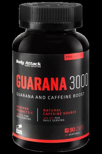 Body Attack Guarana 3000 - 90 Kapseln