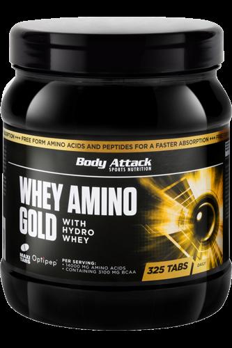 Body Attack Whey Amino Gold - 325 Kapseln