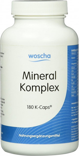 Woscha Mineral Komplex- 180 Kapseln