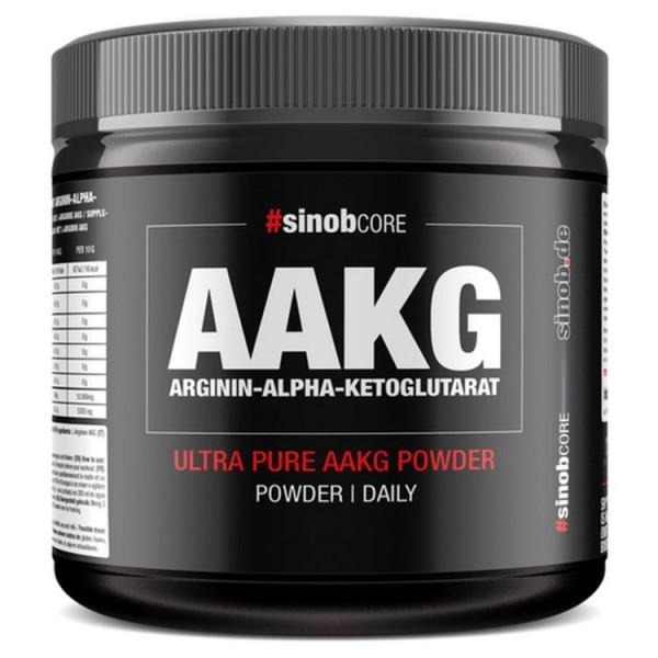 sinob AAKG Arginin-Alpha-Ketoglutarat Pulver - 300 g Dose