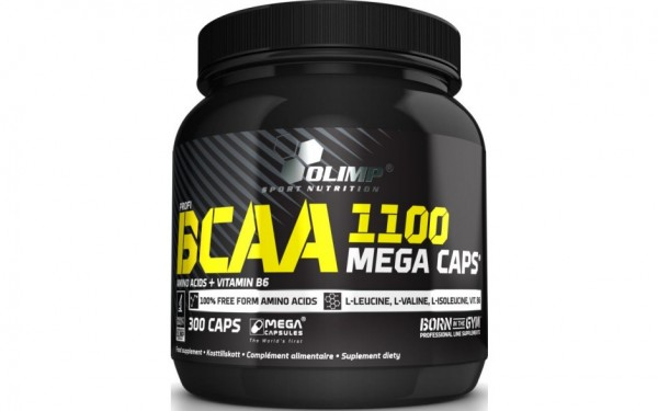 Olimp BCAA 1100 Mega Caps - 300 Kapseln