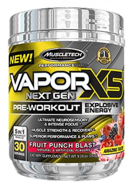Muscletech Vapor X5 Next Gen - 232 g