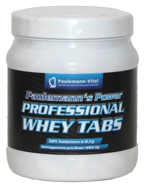 Paulemann-Vital Professional Whey Tabs - 325 Tabletten