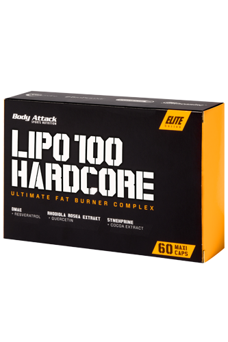 Body Attack Lipo Hardcore - 60 Kapseln
