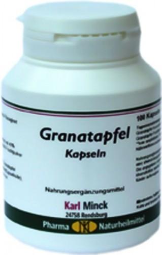 Karl Minck Granatapfel Kapseln - 100 Kapseln