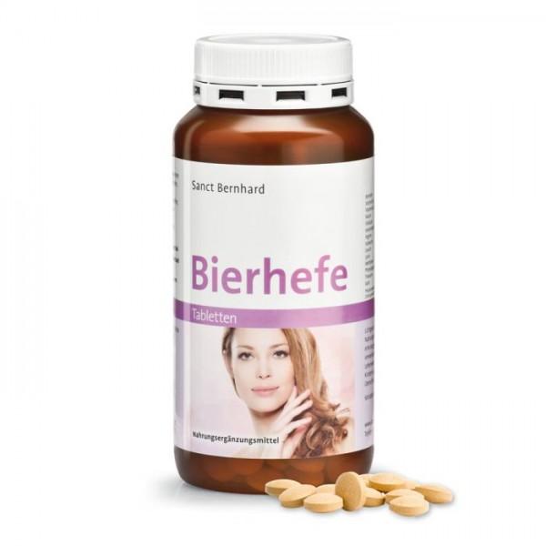 Bierhefe Tabletten- Sanct Bernhard- 400 Stück