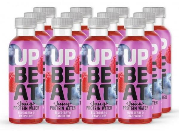 UPBEAT Juicy Protein Water - 12 x 500 ml
