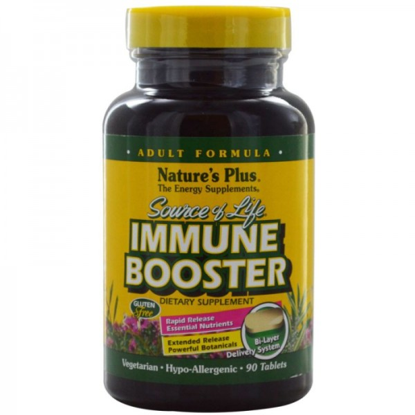 Natures Plus Source of Life® Immune Booster 90 veg. Tabletten