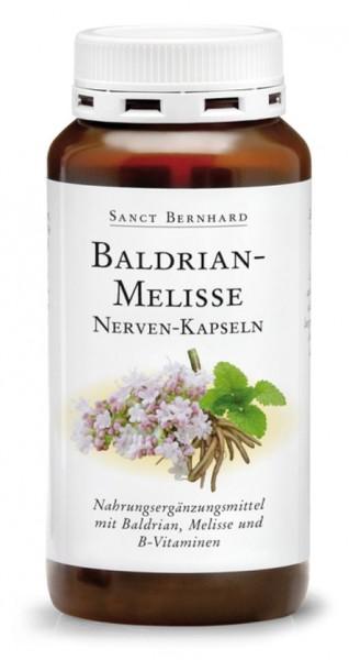 Sanct Bernhard Baldrian-Melisse Nerven-Kapseln - 240 Kapseln