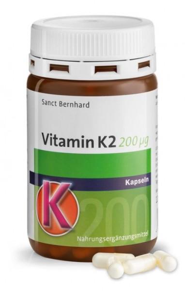 Sanct Bernhard Vitamin K2 - 120 Kapseln