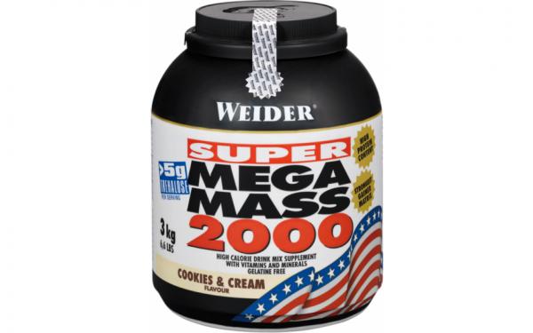 Weider Mega Mass 2000 - 3000g