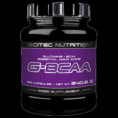Scitec Nutrition G-BCAA - 250 Kapseln