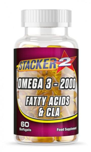 Stacker2 Omega 3 - 2000 - 60 Softgels